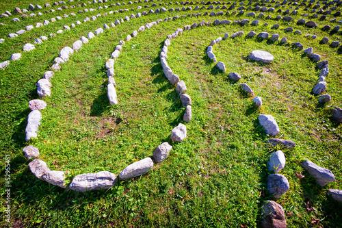 curve of rocks