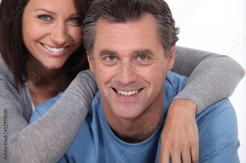 Middle-aged couple