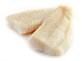 fresh prepared fish fillet