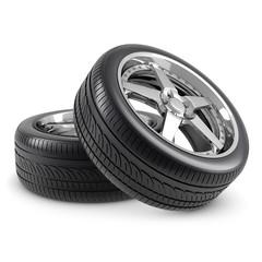 Wheels isolated