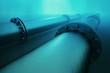 Leinwandbild Motiv Underwater pipeline.