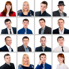 Composition of successful young people