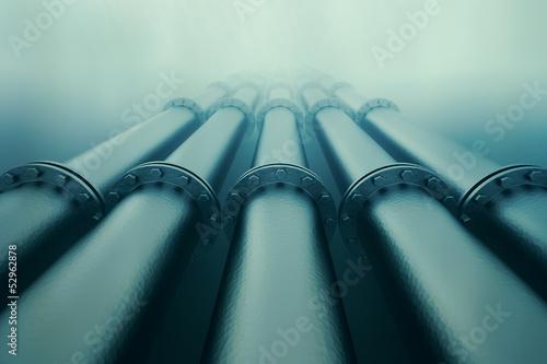 Keuken foto achterwand Koraalriffen Underwater pipeline.