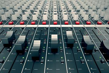 Audio Console.