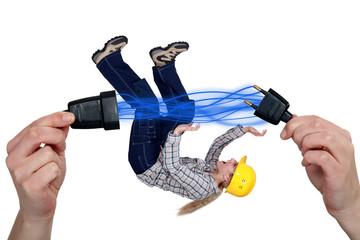 Disconnecting plug