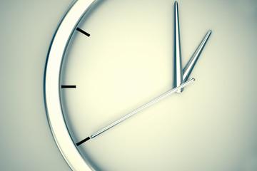 Simple modern clock.