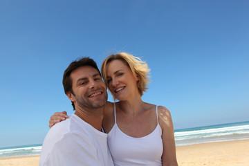 Couple on abeach