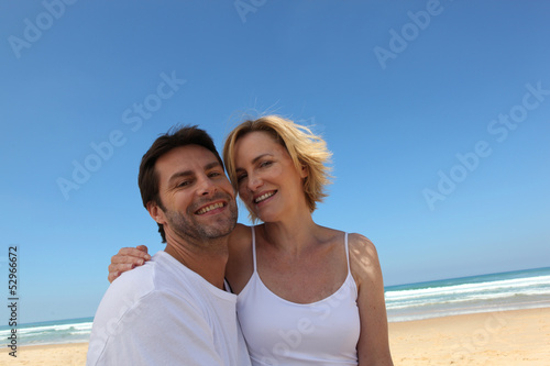 Couple on abeach