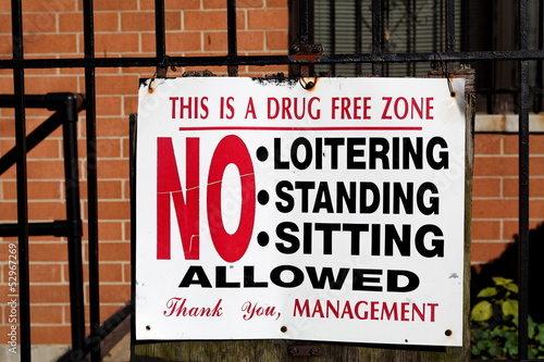 this is a drug free zone
