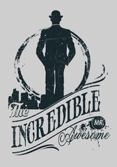 The incredible Mr. Awesome