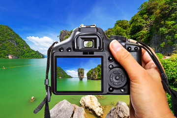 Vacations in Thailand with the camera