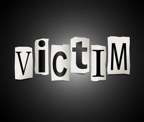 Victim concept.