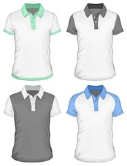 Men's  polo-shirt design templates