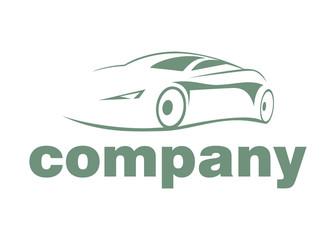 modern company auto logo