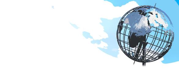Weltkugel abstrakt Hintergrund