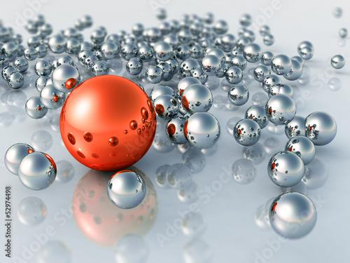 3D Balls - 52974498