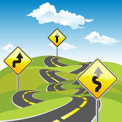 Road Sign Ways