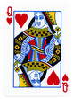 Playing Card - Queen of Hearts - 52975882