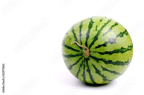 Watermelon from japan isolated on white background, Studio shot