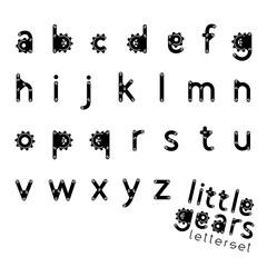 Letterset LITTLE GEARS