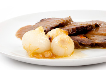 cipolle con carne