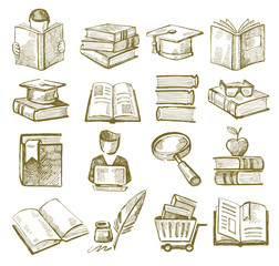 hand draw books