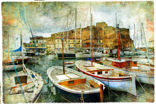 Naples, Italy, artistic picture