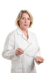 Kritische Ärztin oder Apothekerin