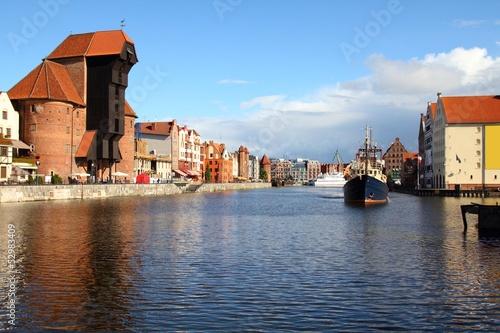 Gdansk, Poland - famous crane