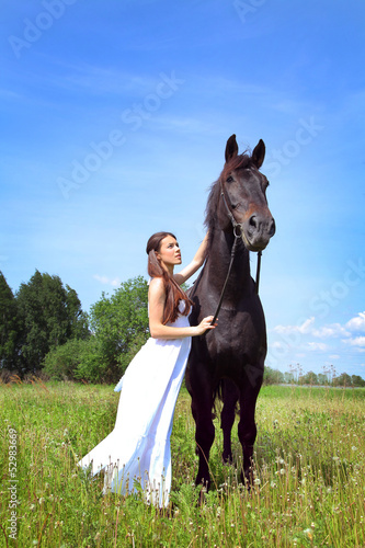 walk with horse