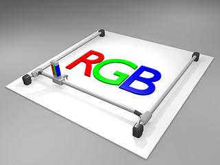 3D Drucker_RGB - 3D
