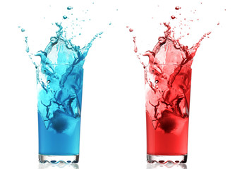 color fruit drinks