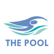 Vector Logo swimming in the pool