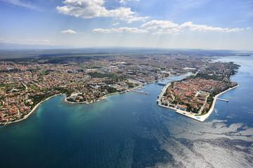 Zadar from air
