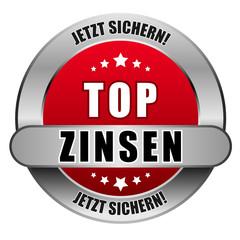 5 Star Button rot TOP ZINSEN JS JS