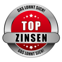 5 Star Button rot TOPZINSEN DLS DLS