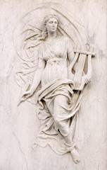 Muse statue