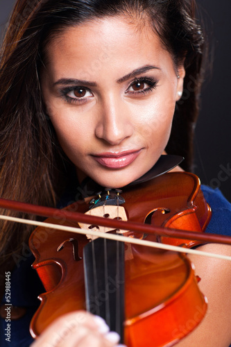 beautiful violinist