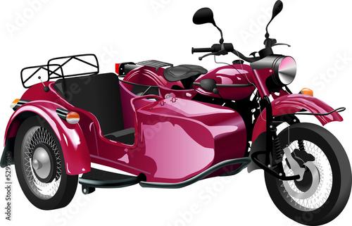 Poster Motorfiets Moto