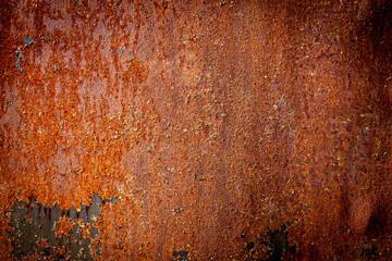 Dark rough metal background