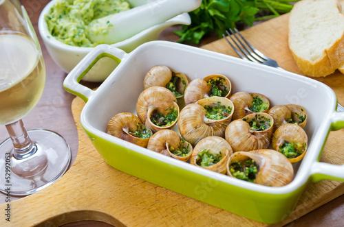 Bourgogne snails