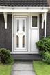 English front door.