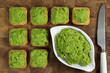 Green peas puree