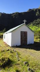 Eglise de l'îlet Marla - cirque de Mafate (La Réunion)