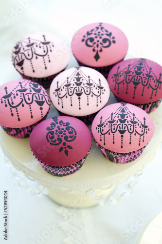Chandelier cupcakes