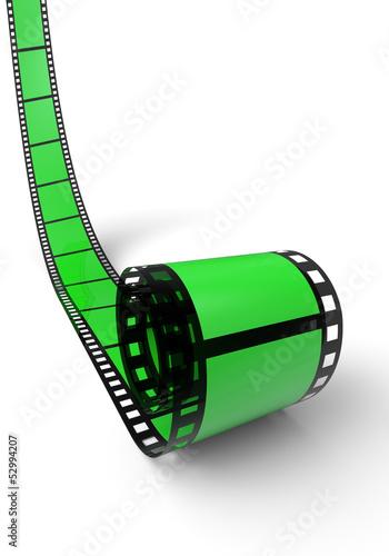 Blanko Filmrolle Grün 08