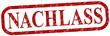 Nachlass Stempel rot  #130601-svg05
