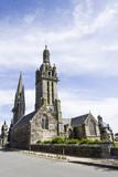 Gothic church in Brittany, France