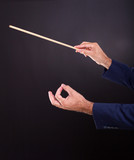 hands of the conductor