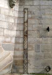 La crue de 1910 à Paris près du Pont Neuf